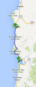 Day 11 Planned Route