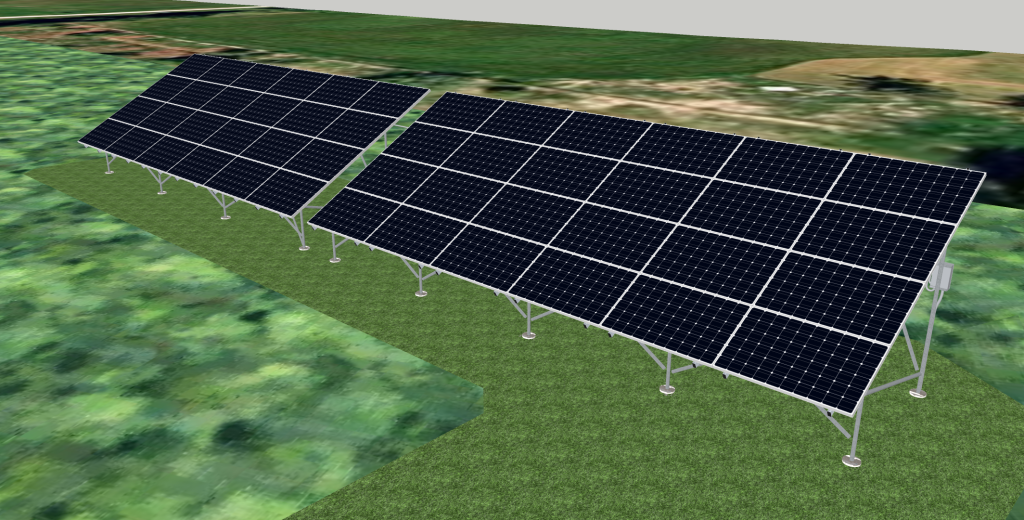 Rendering of complete expanded array